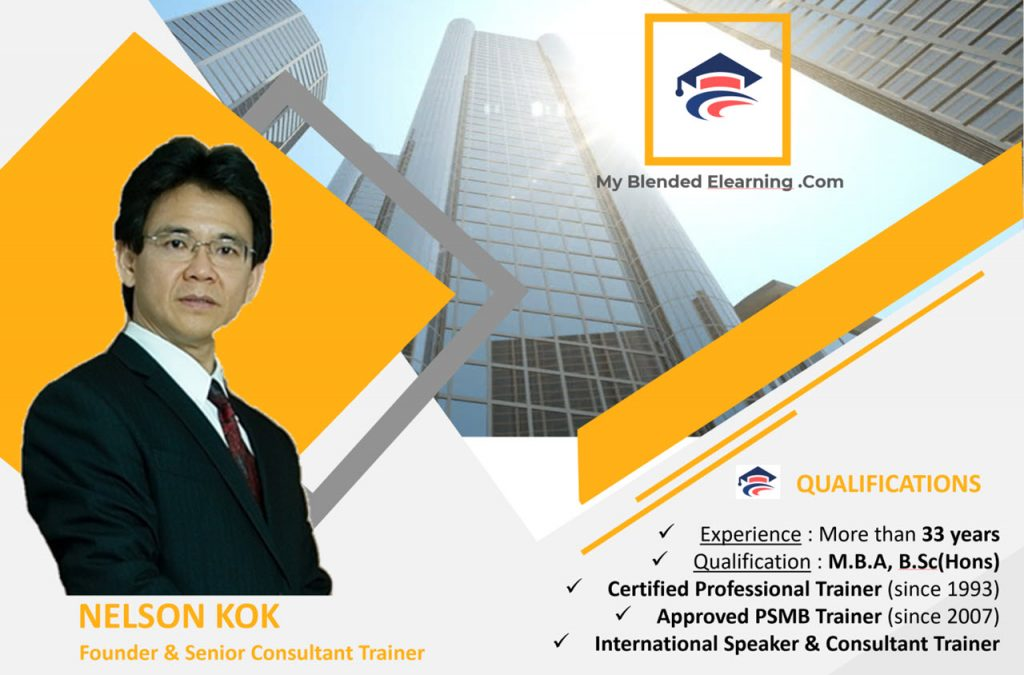 Nelson Kok brief profile