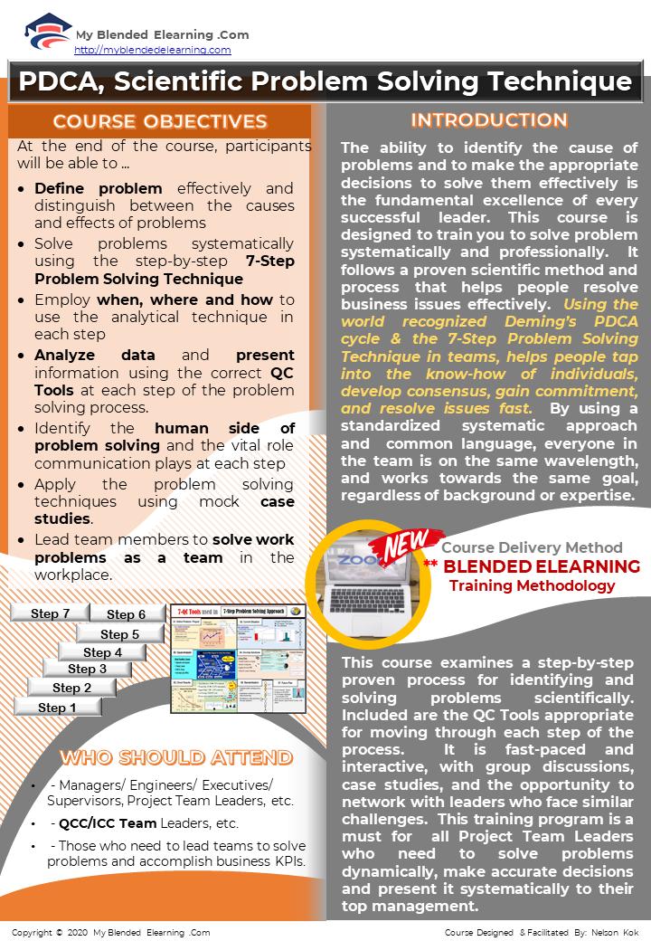 pdca-problem-solving-technique online course -page1/2
